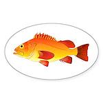 Yelloweye Rockfish Sticker