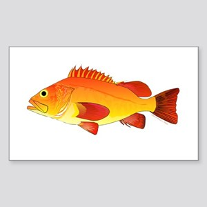 Yelloweye Rockfish Sticker