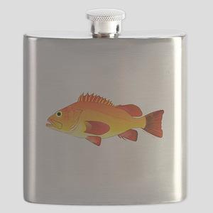Yelloweye Rockfish Flask