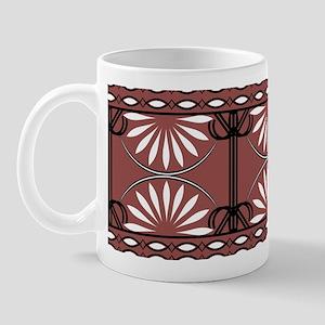 Marsala Lines Curves Mug