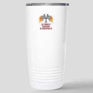 START YOUR ENGINES Travel Mug