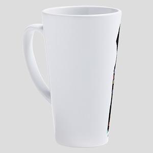 Christmas Bernese Mt Holiday Dog 17 oz Latte Mug