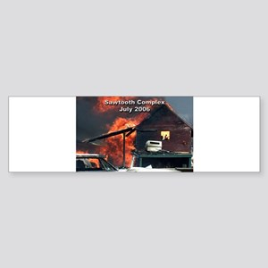 Sawtooth Fire in Pioneertown Bumper Sticker