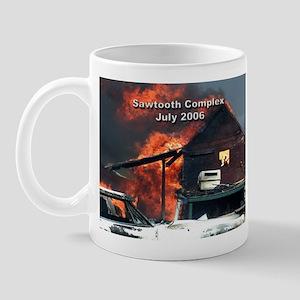 Sawtooth Fire in Pioneertown Mug