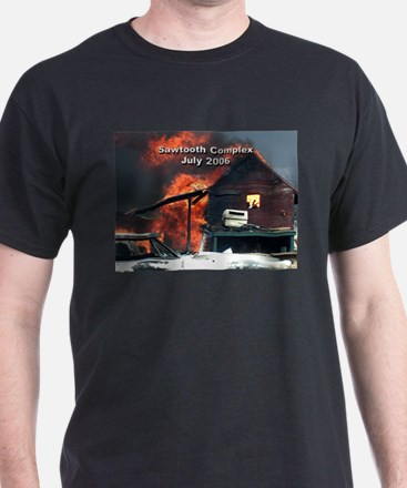 Sawtooth Fire in Pioneertown T-Shirt