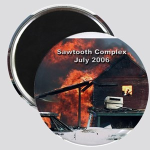 Sawtooth Fire in Pioneertown Magnet