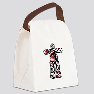 EMBRACE THE LOVE Canvas Lunch Bag