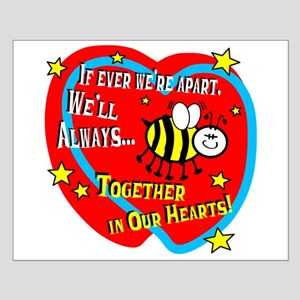 Be Together In Our Hearts Posters Small Poster