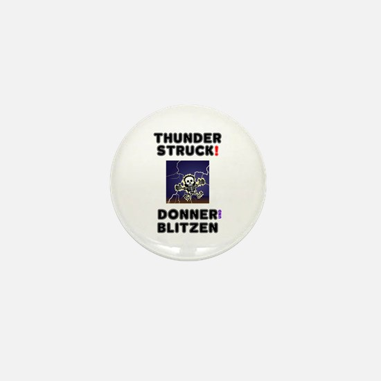 THUNDERSTRUCK,DONNER,BLITZEN,GERMANMTH Mini Button