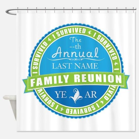 Cute Annual Shower Curtain