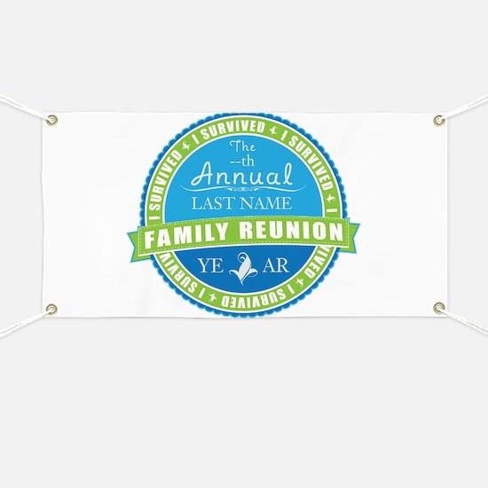 Unique Family reunion Banner