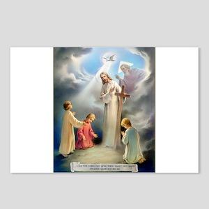 Ten Commandments - I Am The L Postcards (Package o