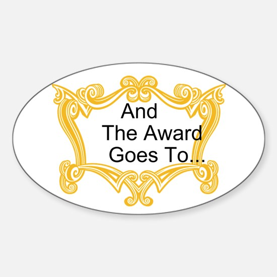 The Award Goes To Decal