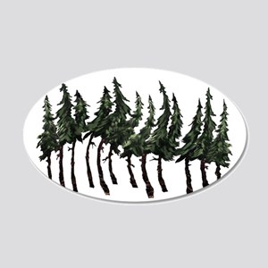 FOREST WINDY DAY Wall Decal