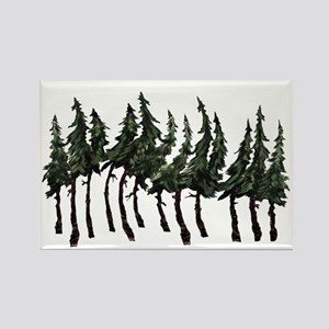 FOREST WINDY DAY Magnets