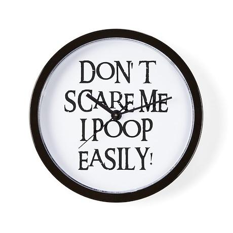 I POOP EASILY! Wall Clock