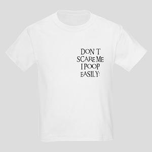 I POOP EASILY! Kids Light T-Shirt