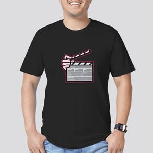 Movie Clapboard Hand Cartoon T-Shirt