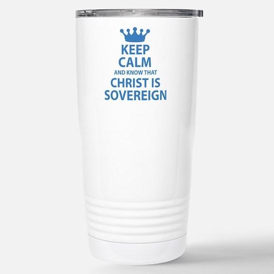 Cute Theology Travel Mug
