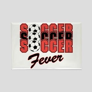 Soccer Fever Rectangle Magnet
