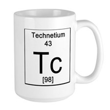 43. Technetium Mugs