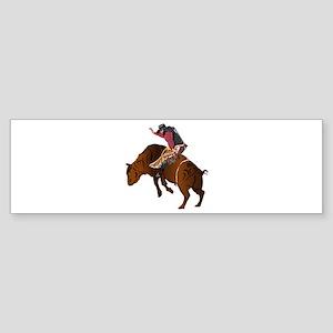 Cowboy - Bull Rider NO Text Sticker (Bumper)