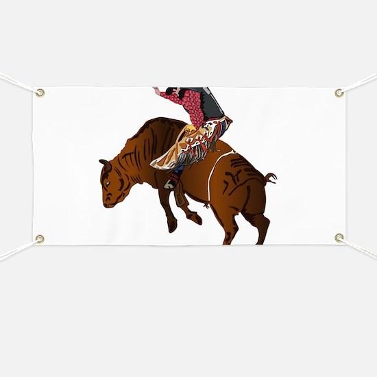 Cowboy - Bull Rider NO Text Banner