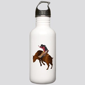 Cowboy - Bull Rider NO Stainless Water Bottle 1.0L