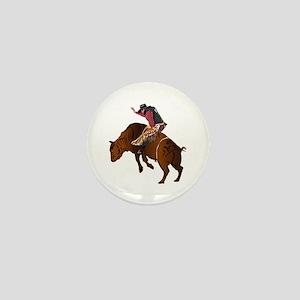 Cowboy - Bull Rider NO Text Mini Button