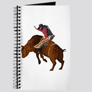 Cowboy - Bull Rider NO Text Journal