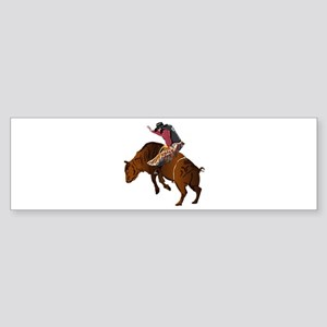 Cowboy - Bull Rider NO Text Sticker (Bumper)