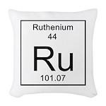 44. Ruthenium Woven Throw Pillow