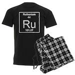 44. Ruthenium Men's Dark Pajamas