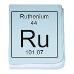 44. Ruthenium baby blanket