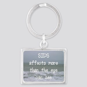 Moe than the eye can see Landscape Keychain