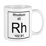 45. Rhodium Mugs