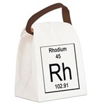 45. Rhodium Canvas Lunch Bag