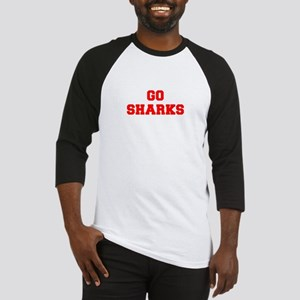 SHARKS-Fre red Baseball Jersey