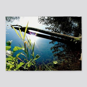 Reflecting Pond 5'x7'area Rug