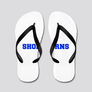 Shorthorns-Fre blue Flip Flops