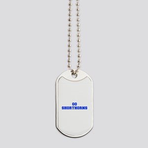 Shorthorns-Fre blue Dog Tags