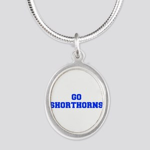Shorthorns-Fre blue Necklaces