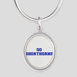 Shorthorns-Fre blue Necklaces