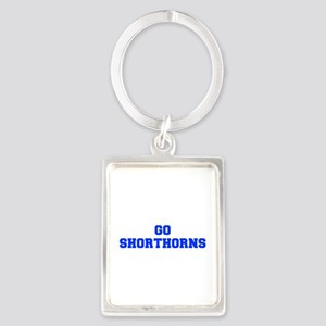 Shorthorns-Fre blue Keychains