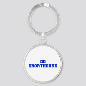 Shorthorns-Fre blue Keychains