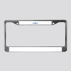 Shorthorns-Fre blue License Plate Frame