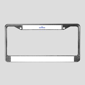 Shorthorns-Fre blue License Plate Frame
