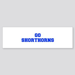 Shorthorns-Fre blue Bumper Sticker