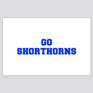 Shorthorns-Fre blue Posters