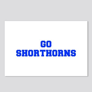 Shorthorns-Fre blue Postcards (Package of 8)